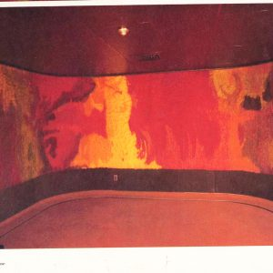 024_1974-Art Book Paulette pg75aa-FEU DOUX -22 feet Wide x 6 ft H-wool tapestry